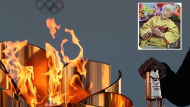 Най-възрастната жена в света ще носи олимпийския огън към Токио