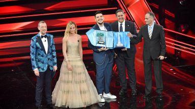 Песен, посветена на изгубен неотдавна баща, спечели наградата на Сан Ремо за млади таланти