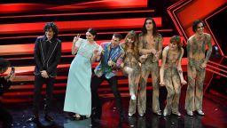Италианска рок банда спечели голямата награда на фестивала в Сан Ремо