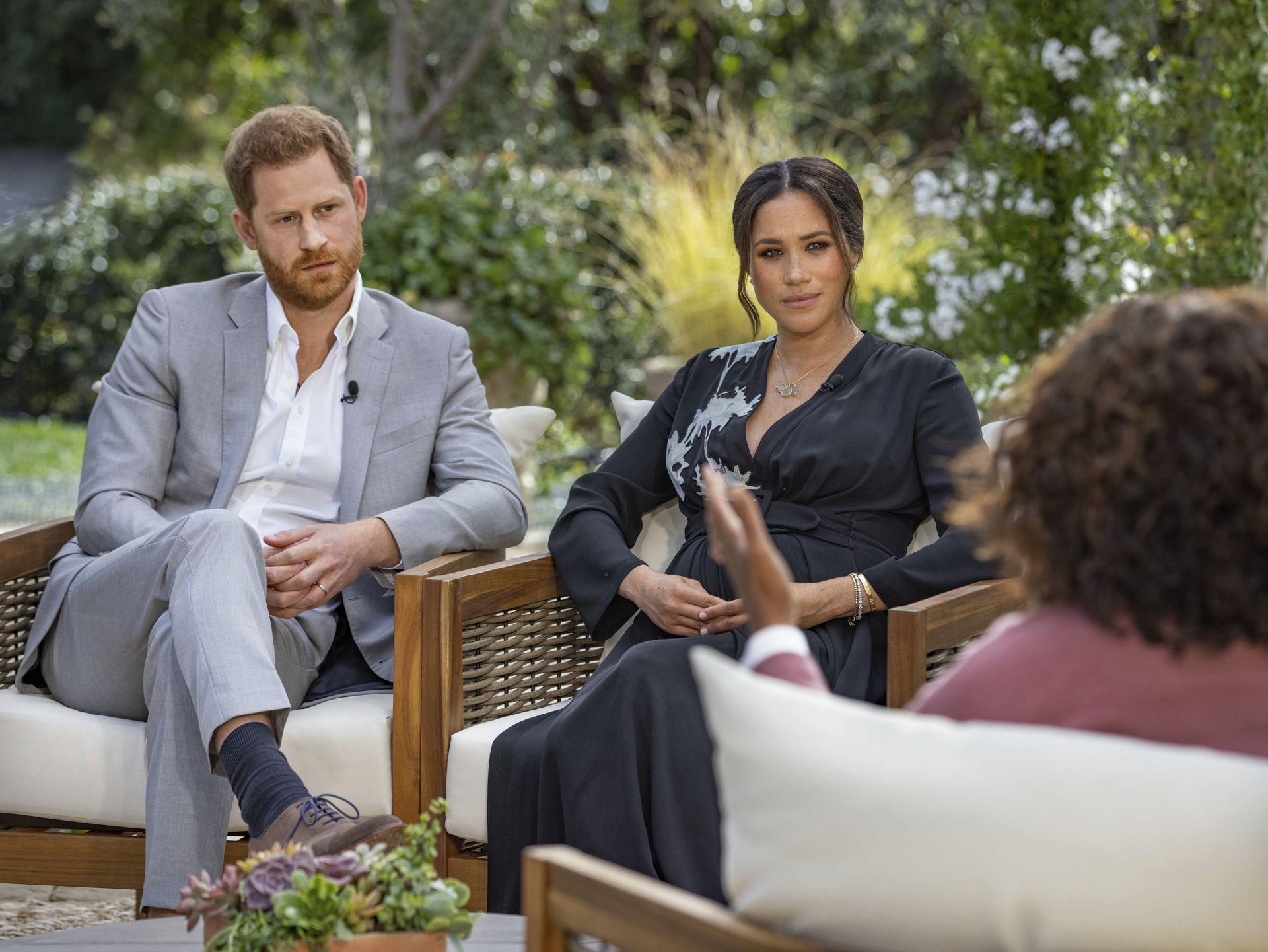принц Хари и Меган Маркъл дават интервю пред Опра Уинфри