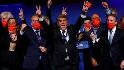 Най-успешният президент на Барса се завърна на поста с вота и на Лео Меси