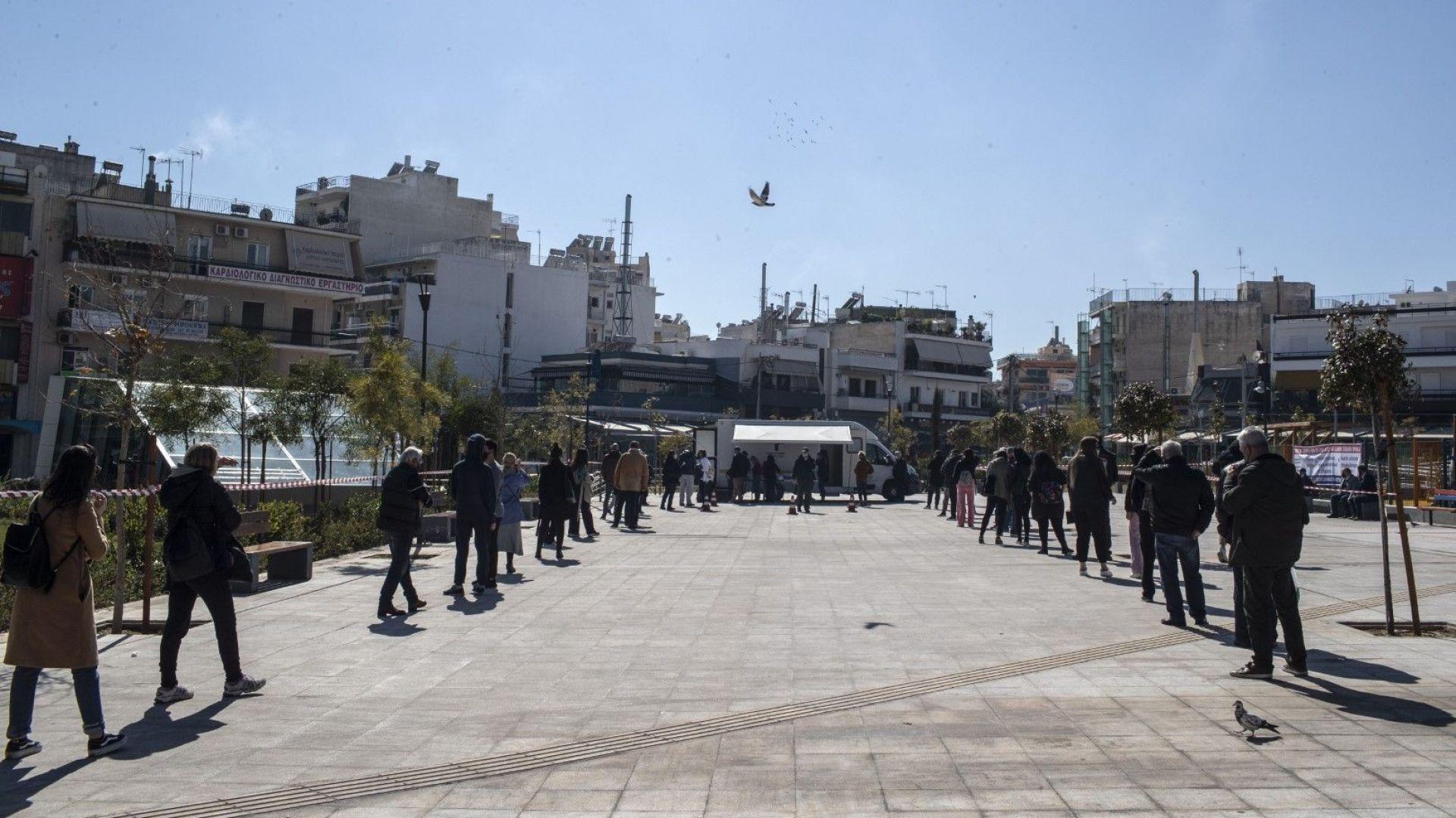 Глоба за семейство на разходка предизвика сблъсъци в Атина