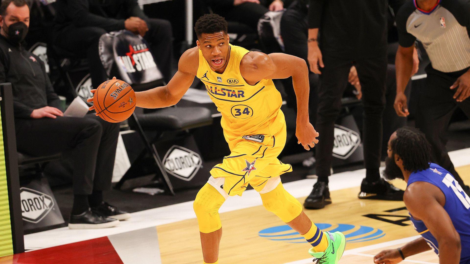 Перфектният Янис засенчи всички в Мача на звездите в НБА