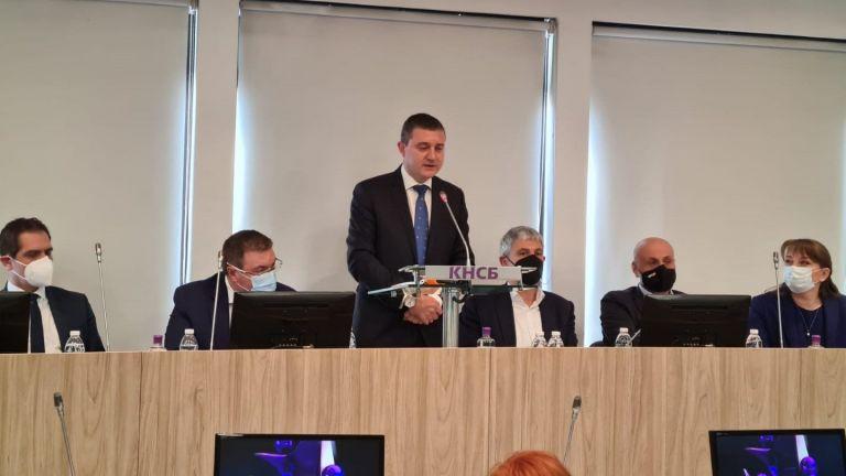 Ключовите политики от предизборната си програма представи днес ГЕРБ по