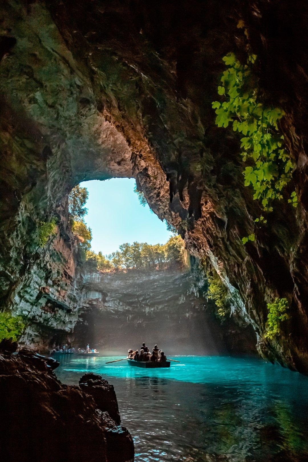 Пещерата Мелисани, Кефалония