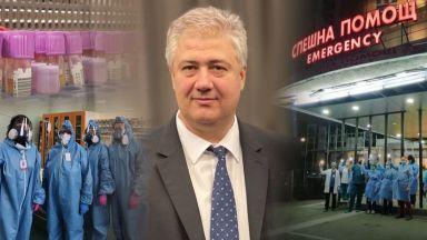 """Проф. Балтов изпратил до ДАНС скандално писмо срещу колеги от """"Пирогов"""""""