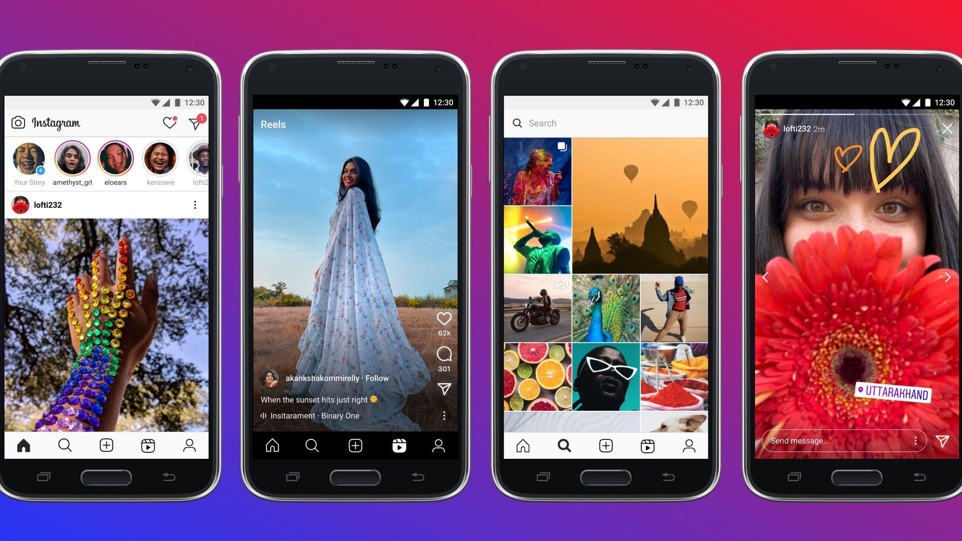 Facebook пуска Instagram Lite