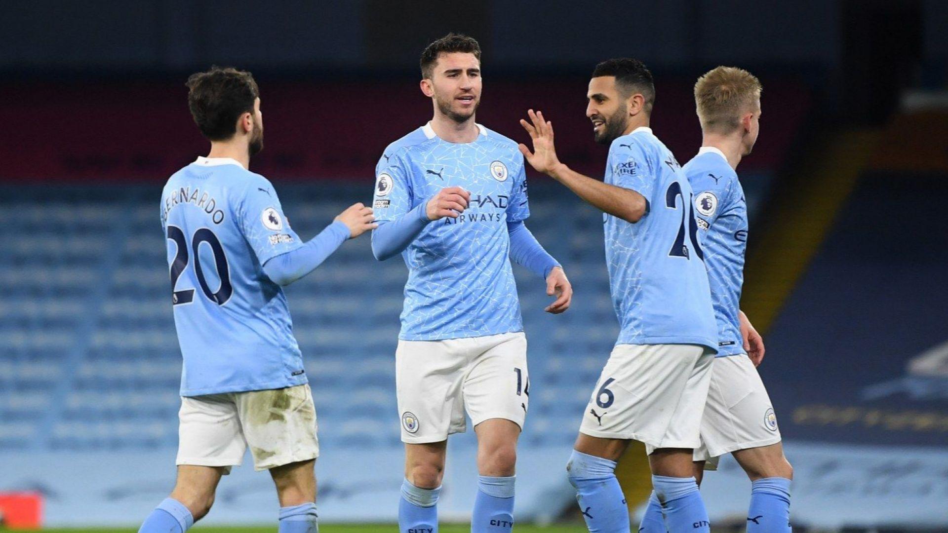 Сити се позабавлява в мач със 7 гола и пак дръпна на върха