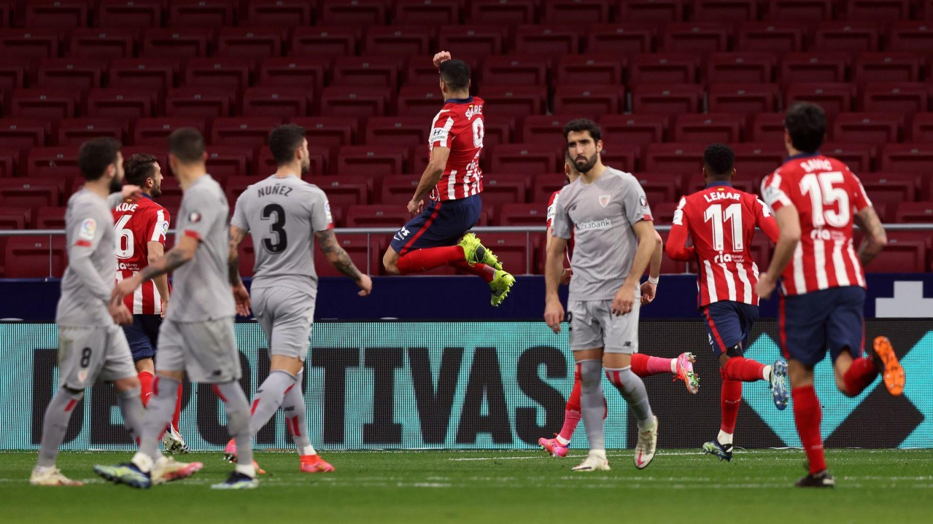 Дузпа прекъсна негативната домакинска серия за Атлетико