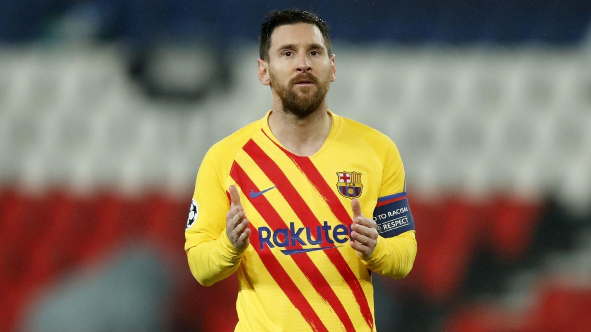 Меси бе главно действащо лице, но ПСЖ изхвърли Барселона