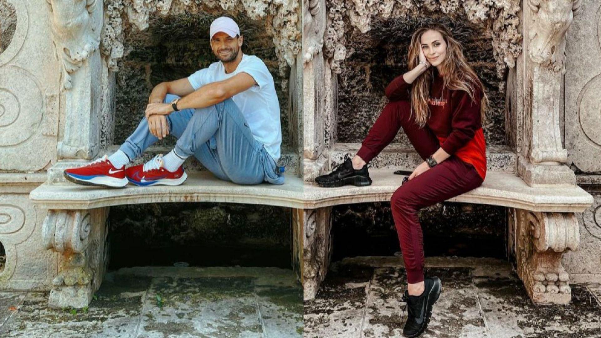 Григор и Лолита с романтична разходка из едно от съкровищата на Маями