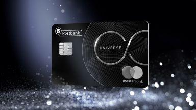 Mastercard UNIVERSE от Пощенска банка – картата, която дава много повече
