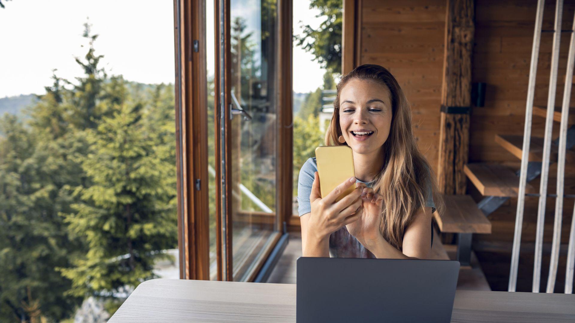 Бързият интернет дава възможност да работите от всяко място, което на практика значи повече свободно време
