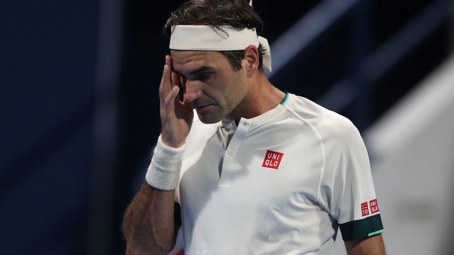 Федерер падна до №7 в ранглистата и призна: Ще събера сили за един последен опит