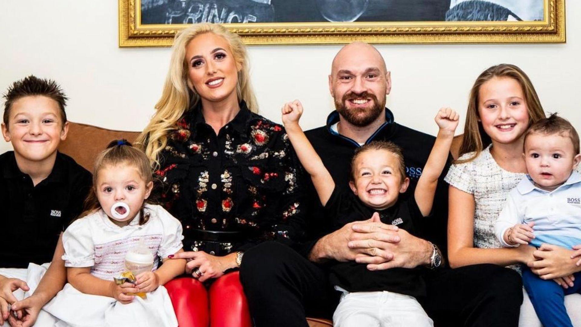 Тайсън Фюри очаква шестото си дете