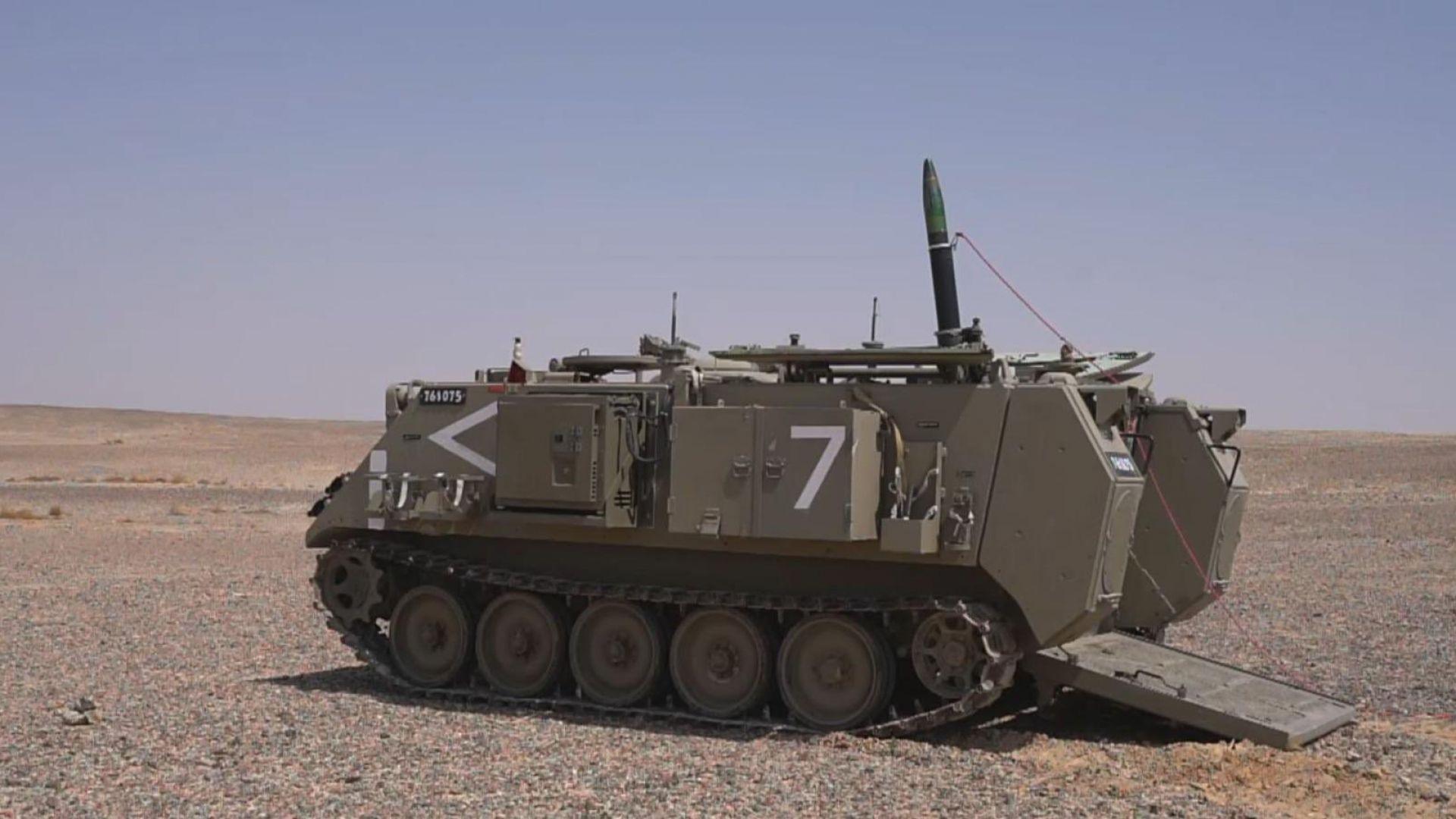"""Израел е разработил нова минометна система """"Желязно жило"""" (видео)"""