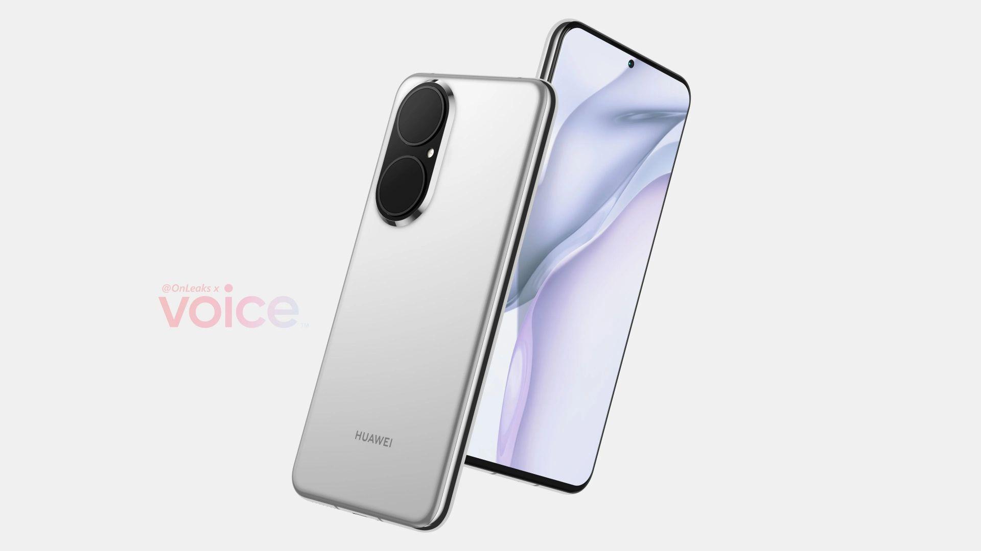 Така ли ще изглежда Huawei P50?