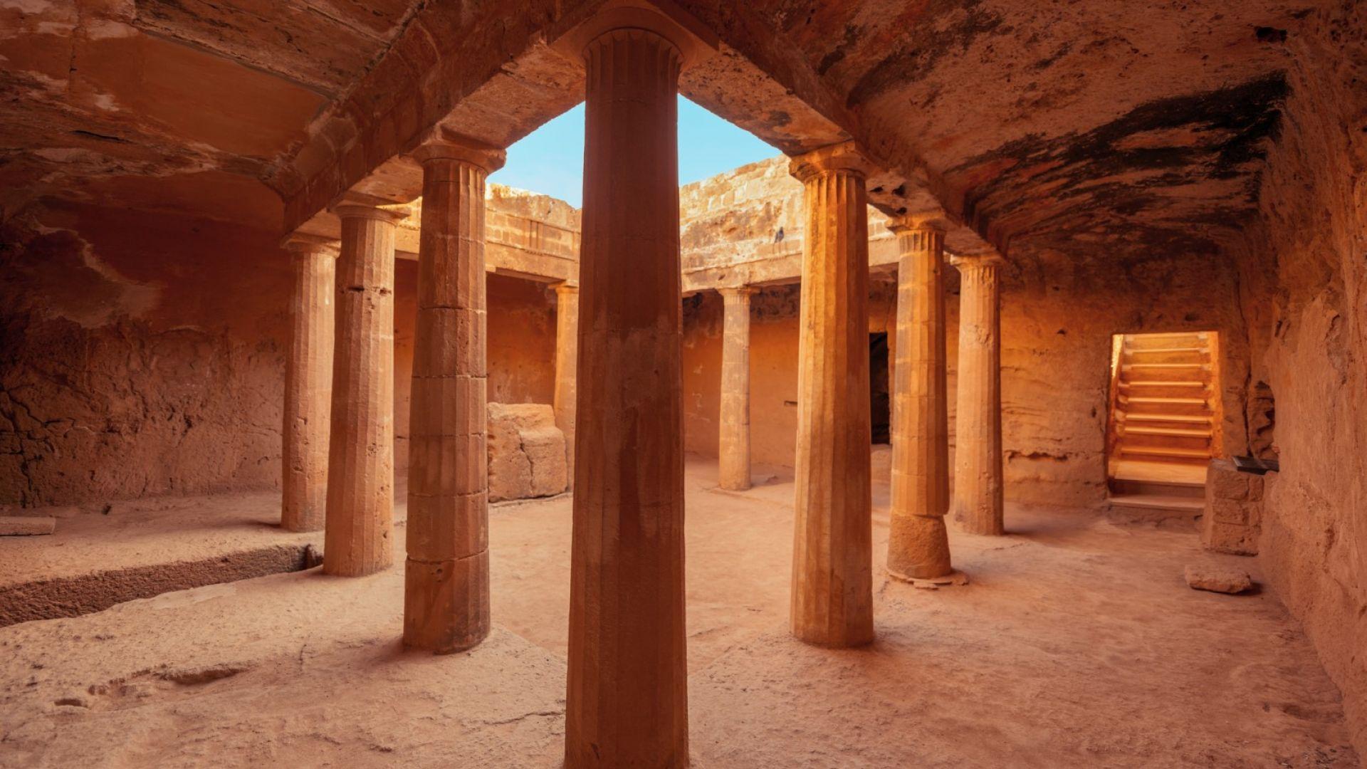 Като Индиана Джоунс в Кипър: Гробниците на царете в Пафос
