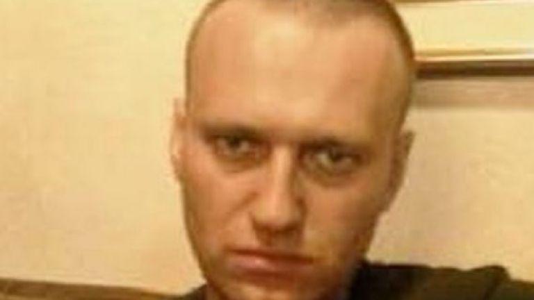 Руският опозиционер Алексей Навални обяви днес, че се намира в