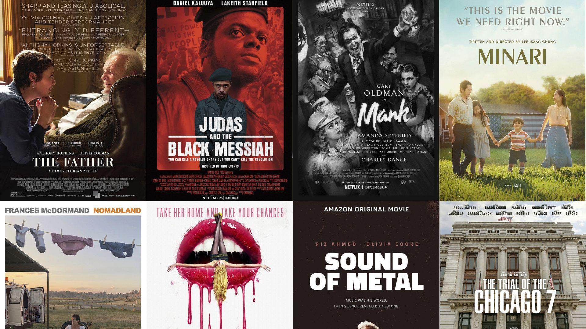 """Кино по време на пандемия: Вижте пълния списък на номинираните за наградите """"Оскар"""""""