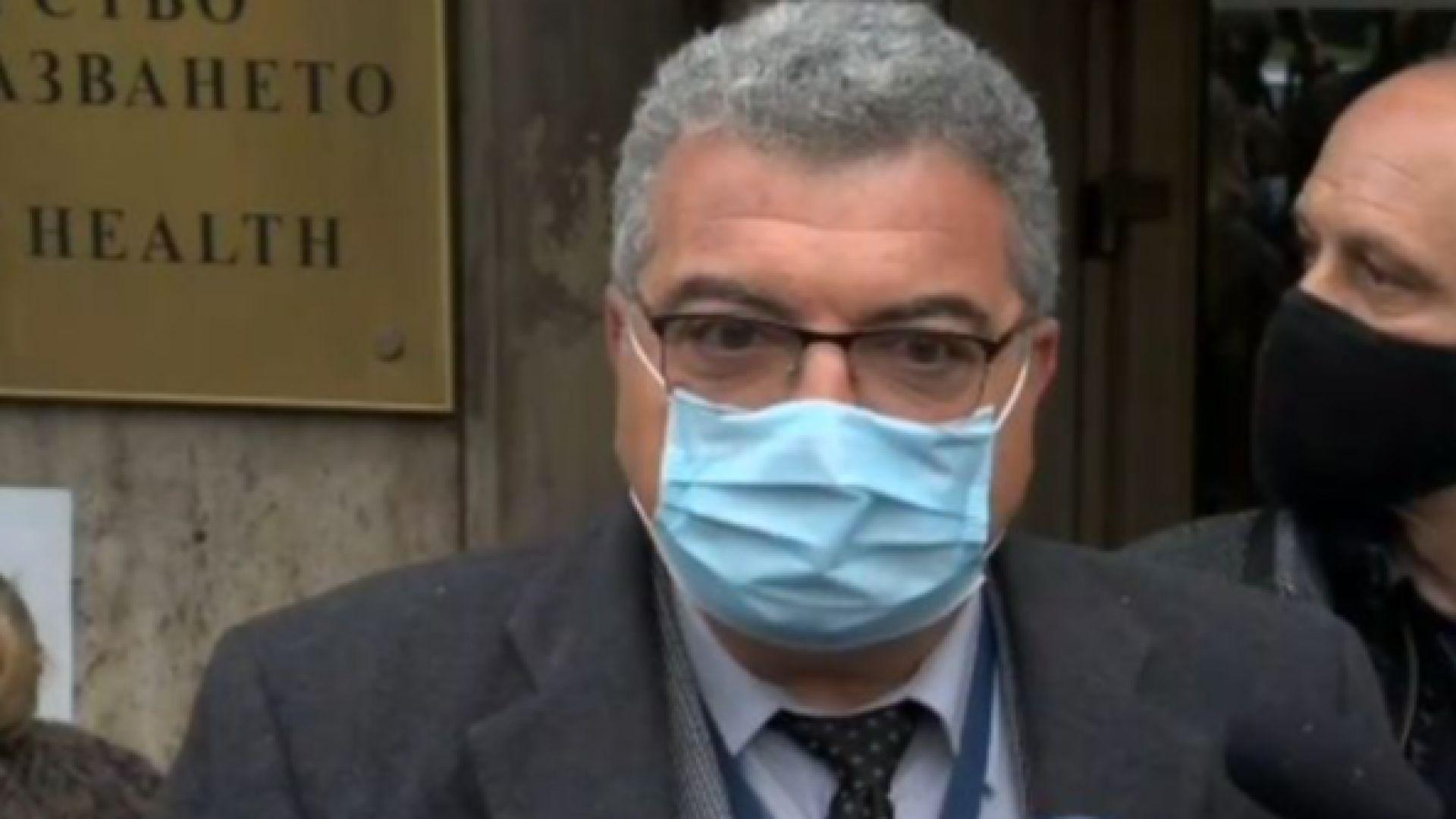 Шефът на РЗИ-София: Високата смъртност е заради неглижиране на хронични болести