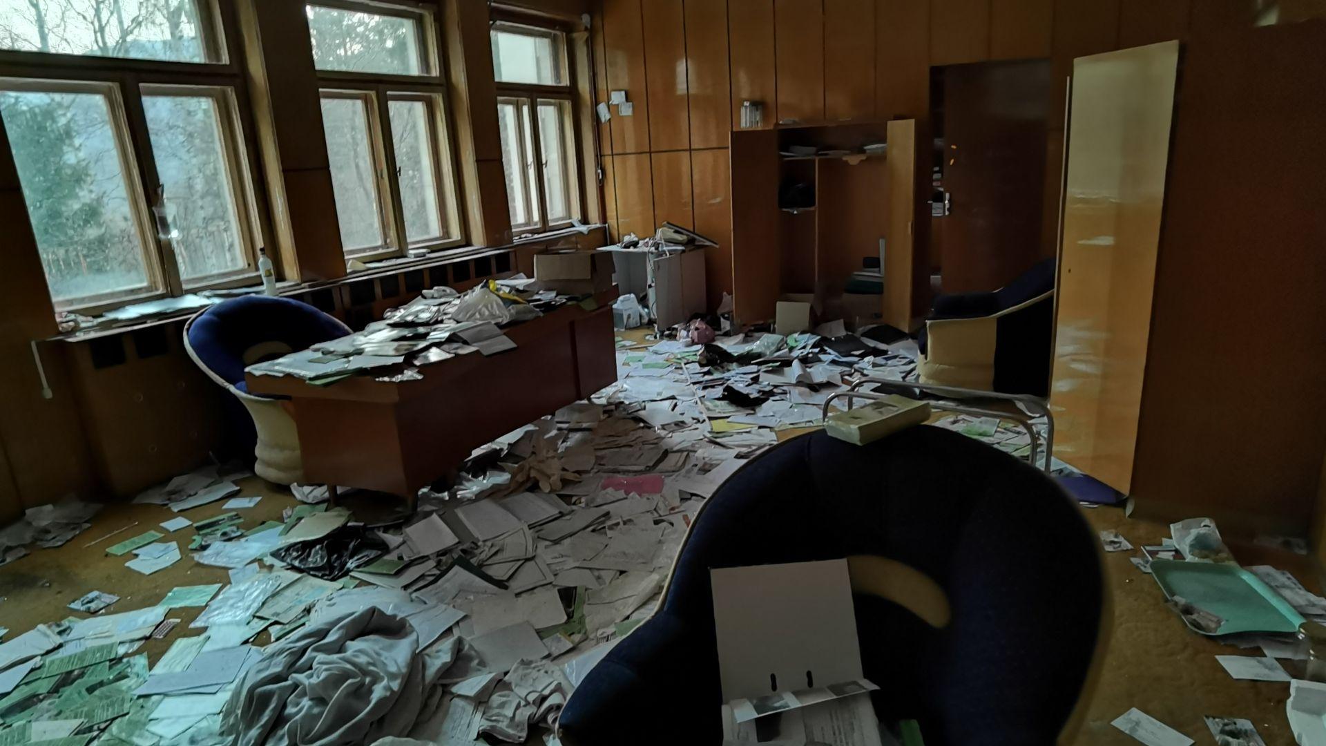 Стая, вандализирана от неизвестни
