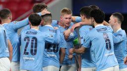 Красиви голове довършиха работата на Манчестър Сити в Шампионска лига