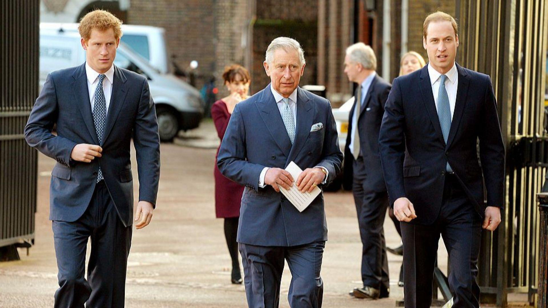 Принц Хари е разговарял с брат си и с баща си след интервюто пред Опра Уинфри