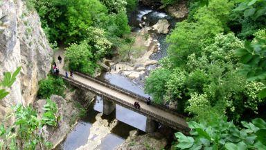 Непознатото ждрело на река Андъка край Дряново