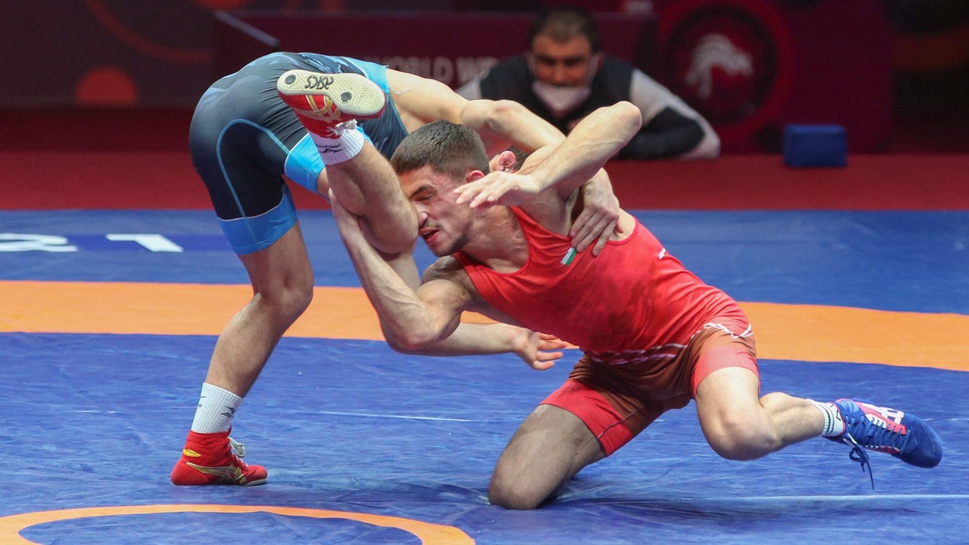 Георги Вангелов взе втора българска олимпийска квота в борбата