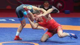 Георги Вангелов загуби на 1/4-финал