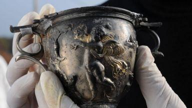 Показват най-елитното сребърно съкровище на траките в Бургас