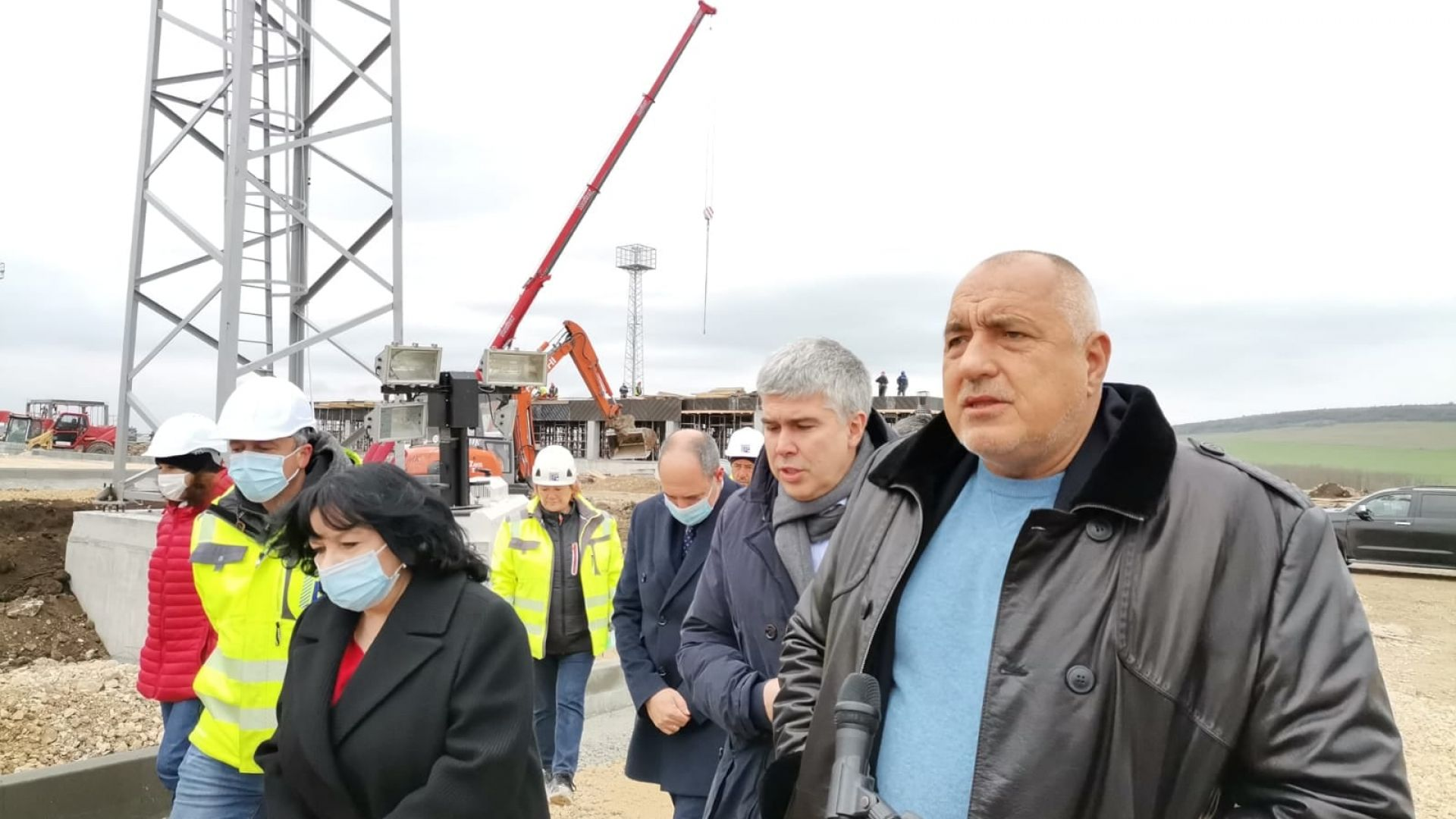 """Борисов инспектира газовия хъб """"Балкан"""": 100% независими сме, не могат да ни спрат кранчето"""
