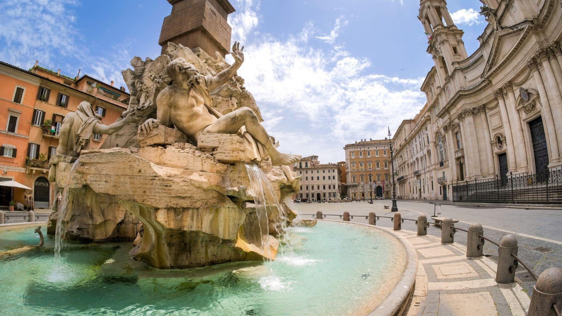 Рим поверява трафика си на изкуствен интелект