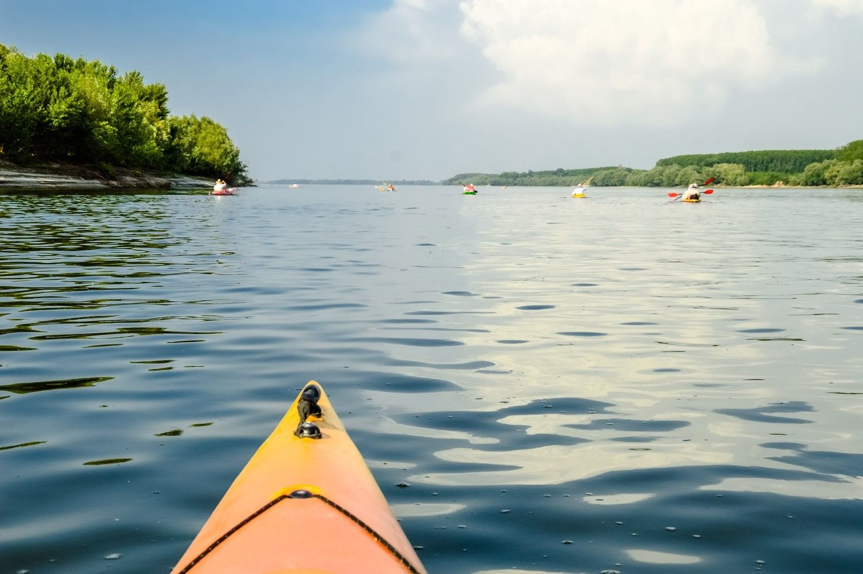 Плавайте с каяк край дунавските острови