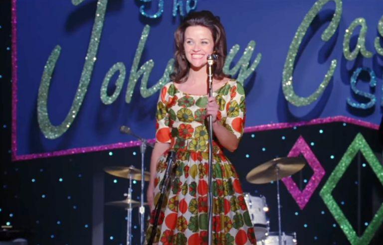 """Рийз Уидърспуун като Джун Картър в """"Walk The Line"""""""