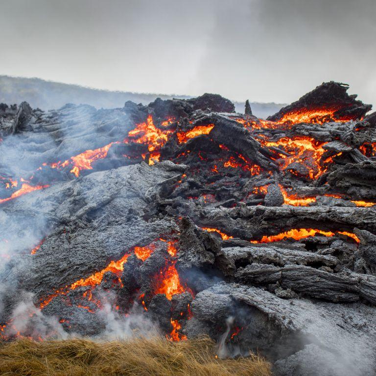 Нова скара върху лава, този път в Исландия (видео)