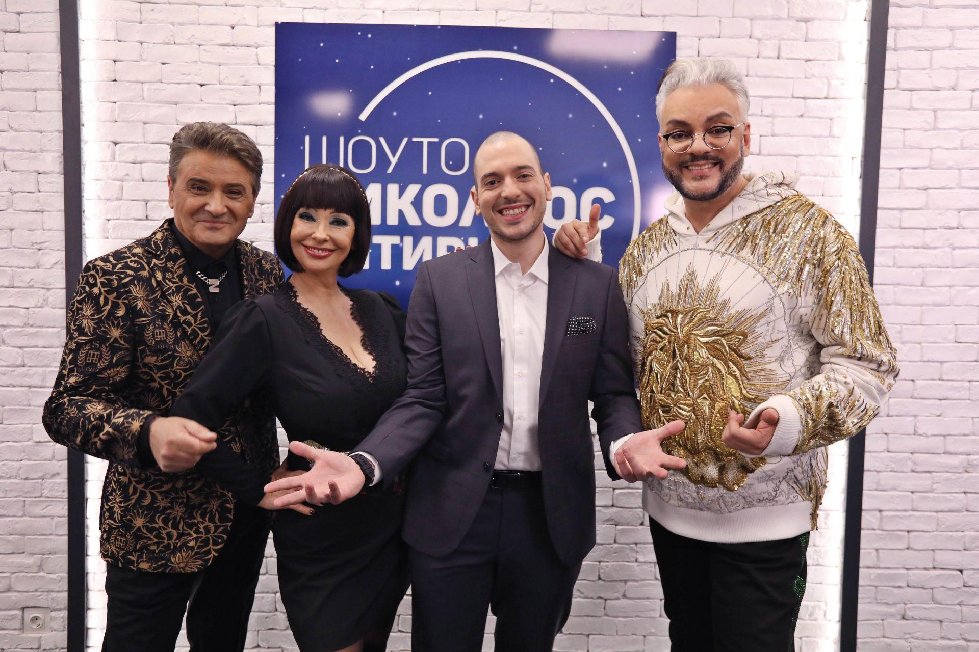 """Николаос Цитиридис с Катя и Здравко от """"Ритон"""" и Филип Киркоров"""