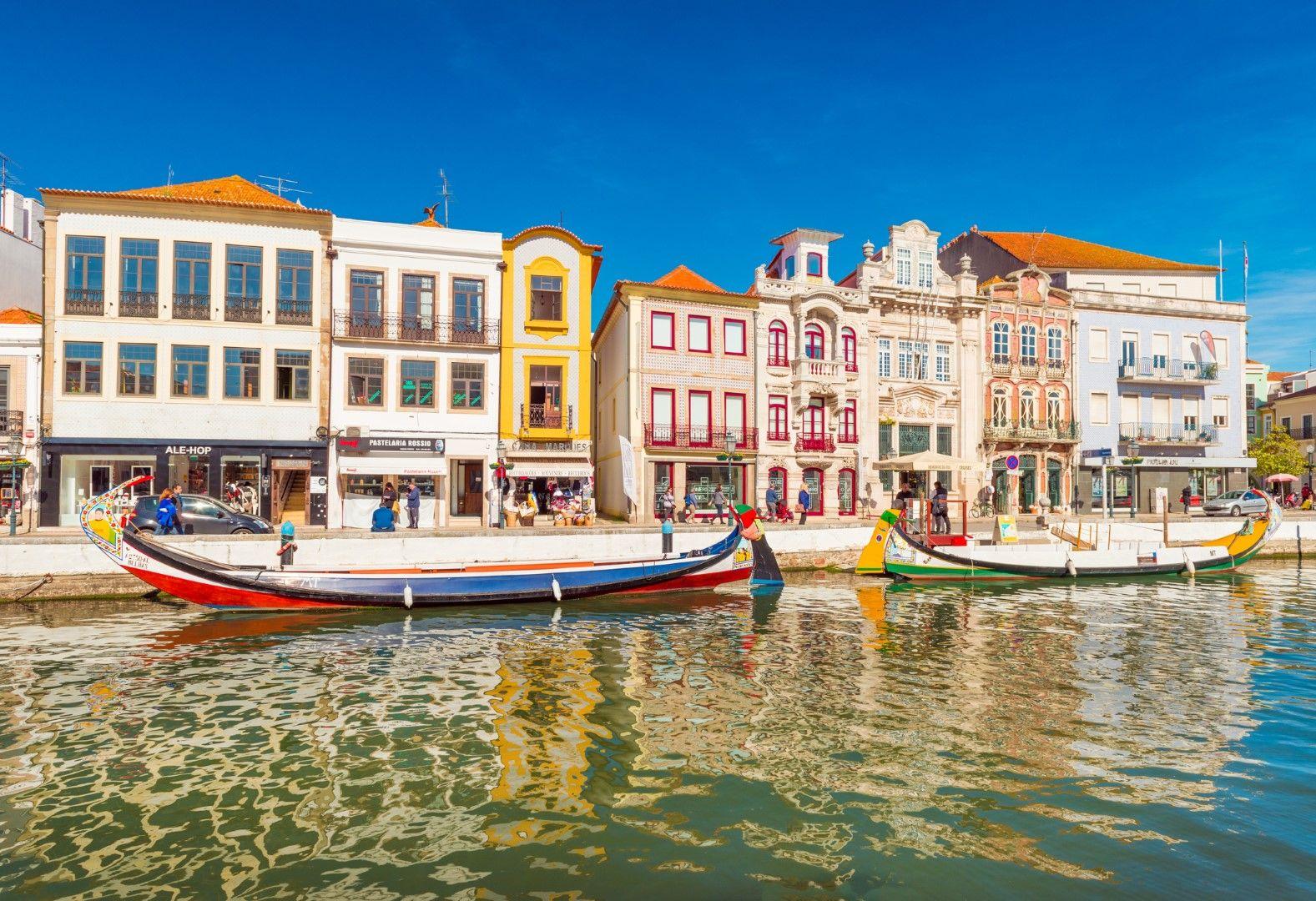Град Авейро често е сравняван с Венеция