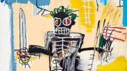 Картина на Баскиа беше продадена за 41,7 млн. долара на търг в Хонконг