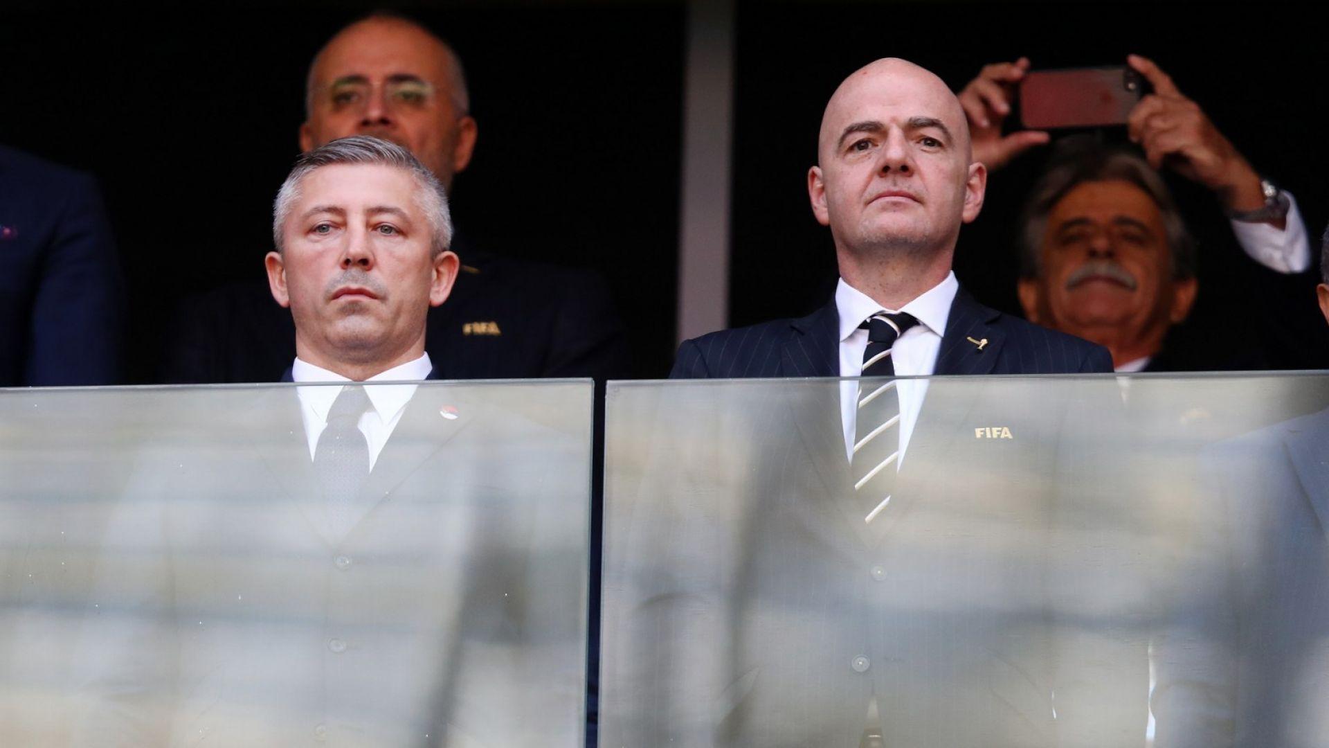 Скандал в сръбския футбол: Президентът подаде оставка, обвиниха го в брутални престъпления