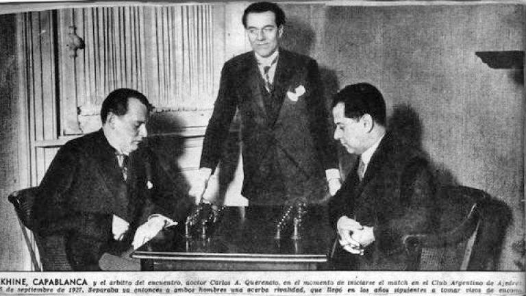 Срещата на Алехин с Касабланка