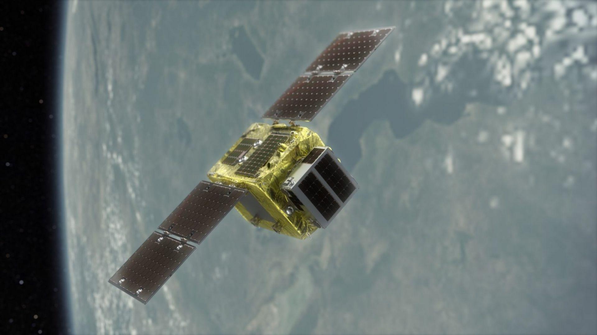 Нов вид сателит ще унищожава космическия боклук