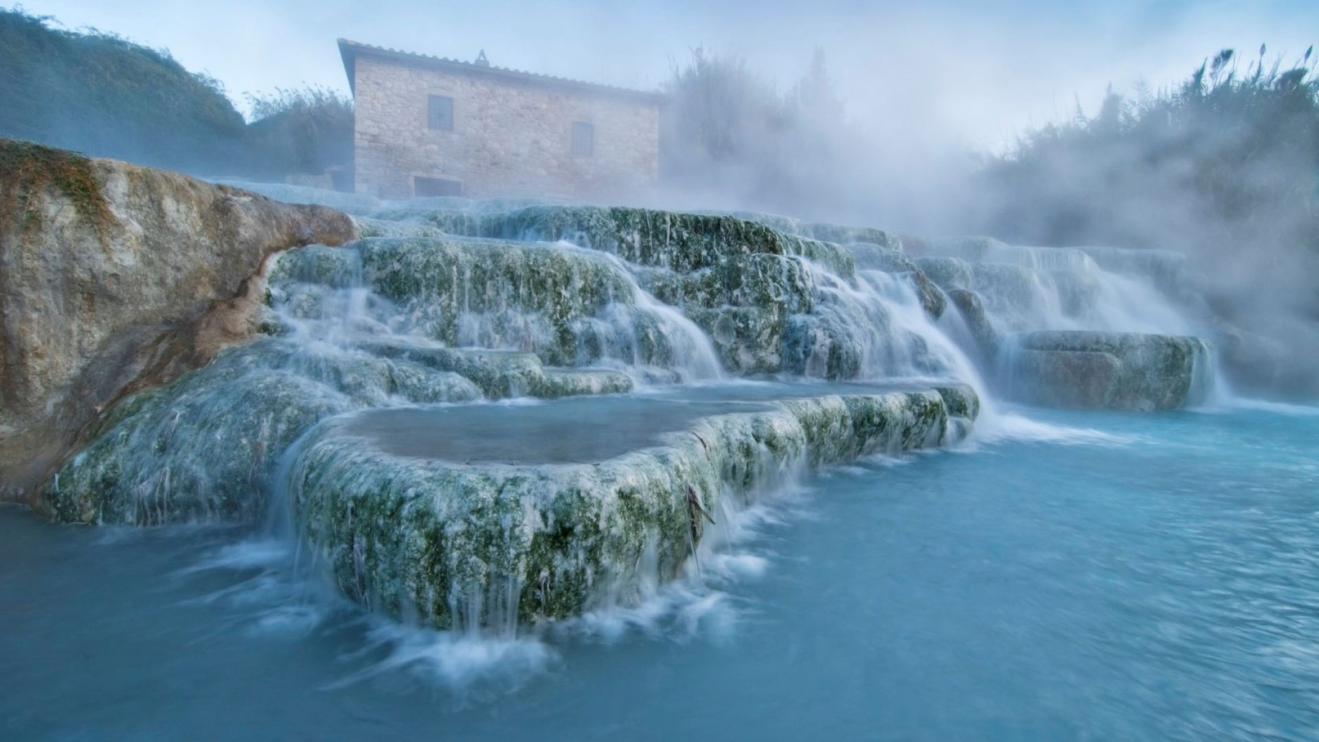 Терме ди Сатурния: неземните минерални извори на Тоскана (видео)