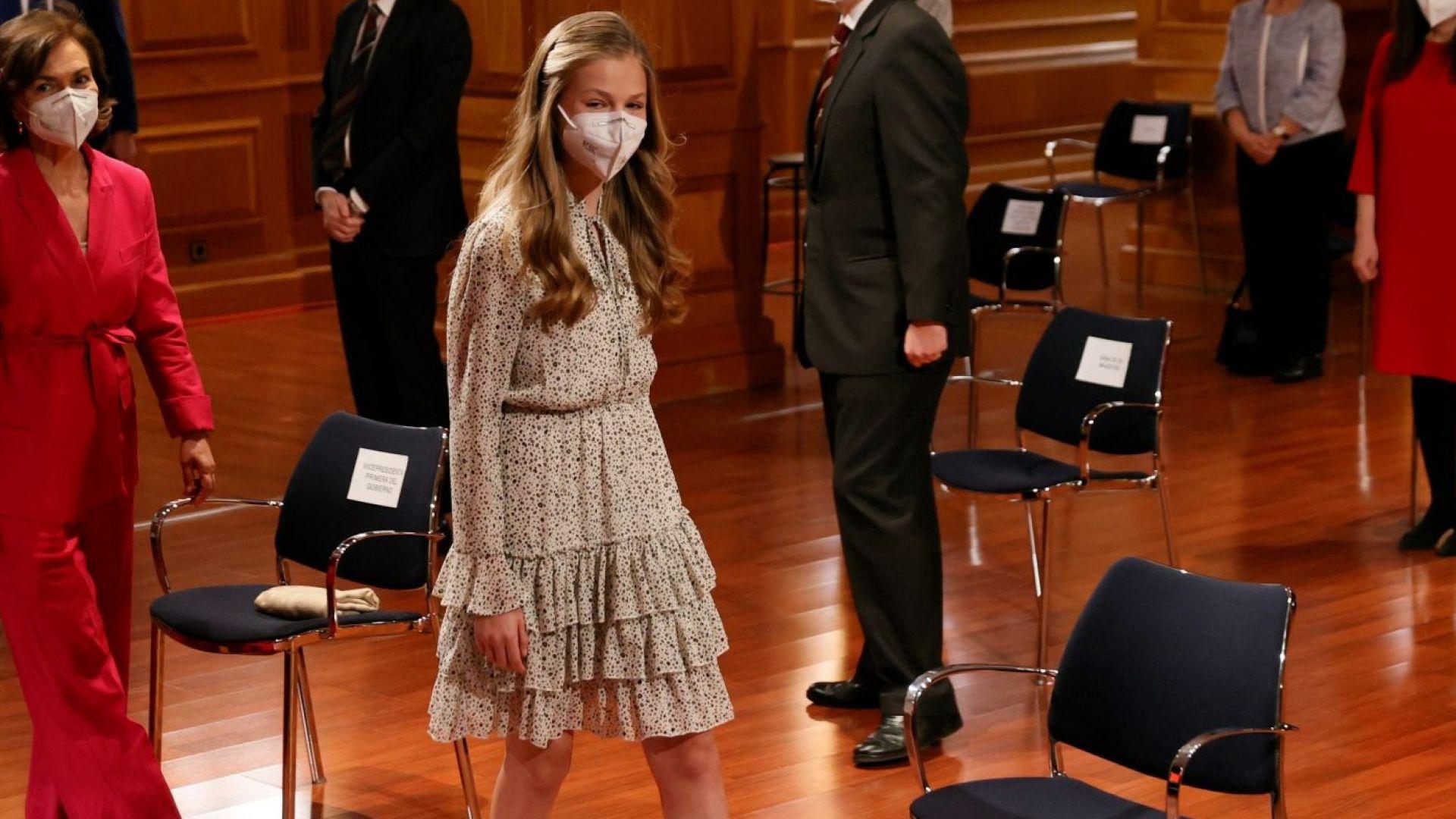 Дъщерята на кралица Летисия с първи самостоятелен обществен ангажимент