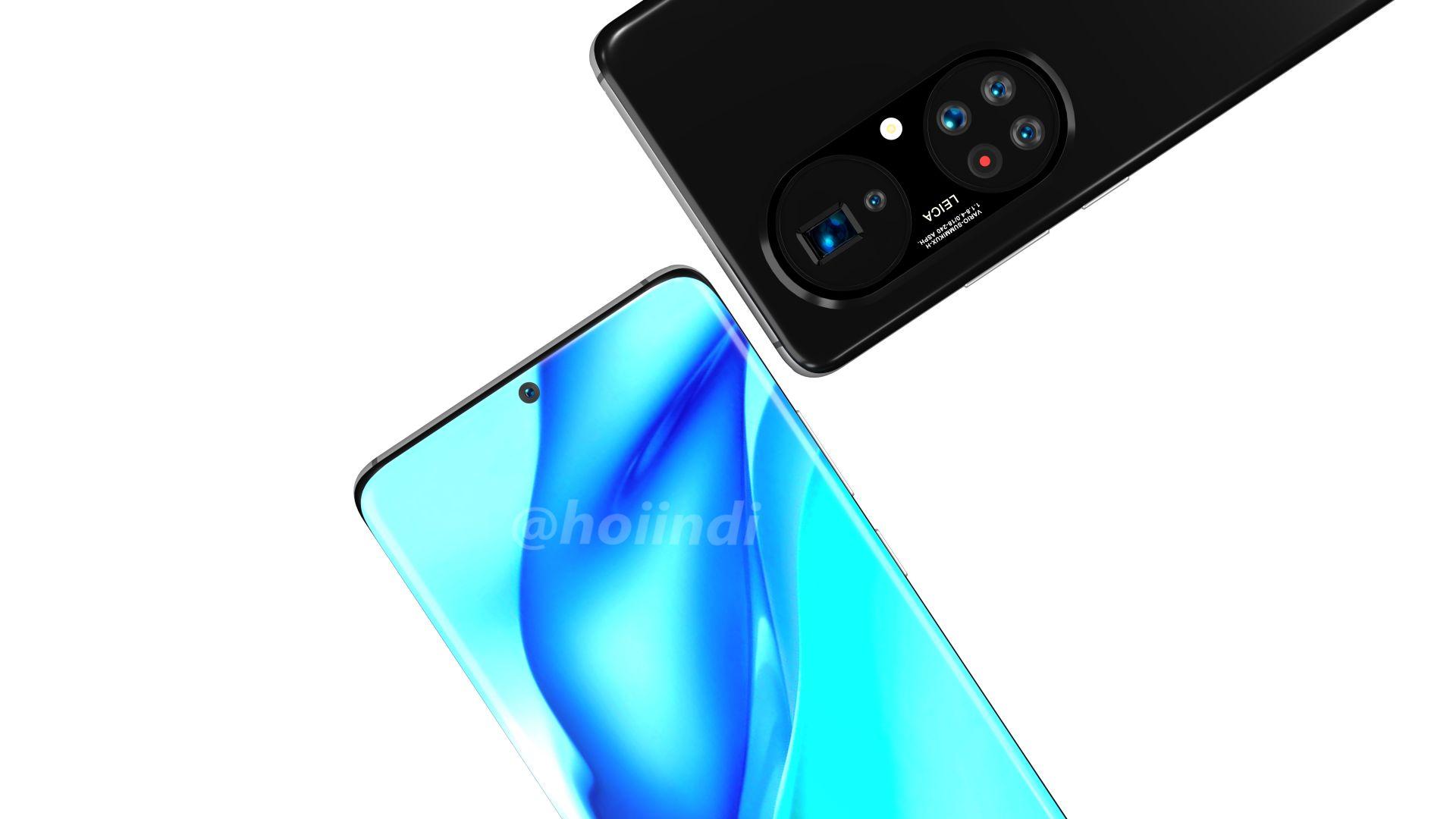 Появиха се изображения на Huawei P50 Pro+