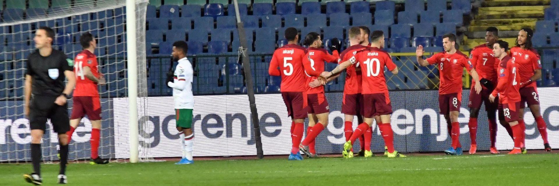 Три експресни гола обрекоха България на загуба от Швейцария
