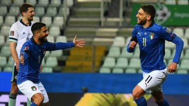 Италия ще пътува в добро настроение за София, провал за Испания (обзор)