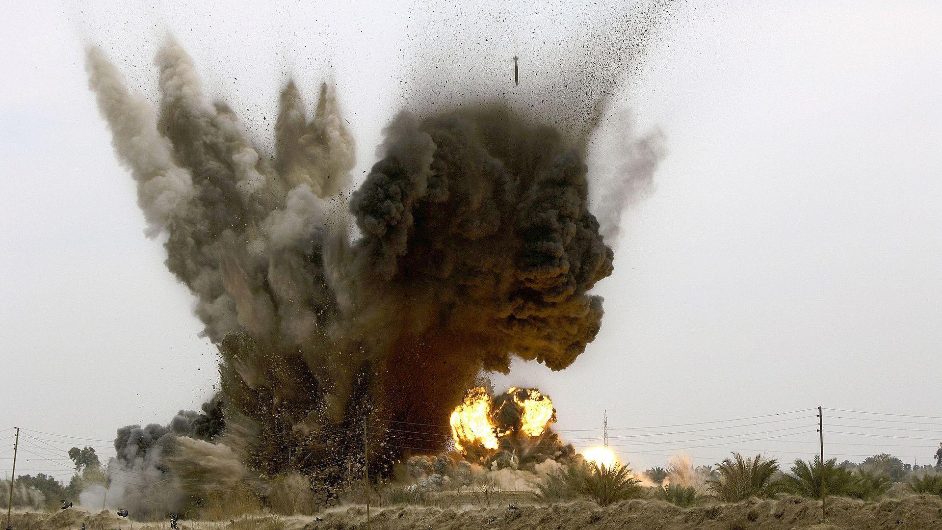 """""""Умните"""" оръжия секунда преди взривяване (галерия)"""