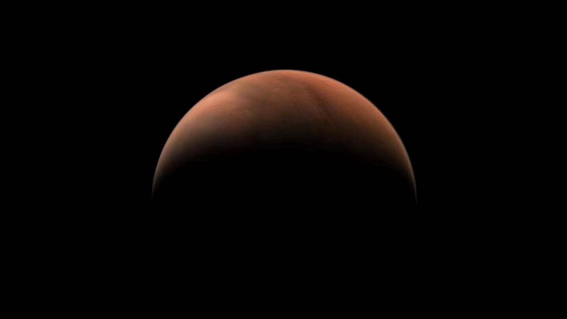 Китай засне Марс като полумесец